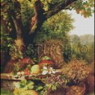 FRUITS OF THE GARDEN cross stitch pattern