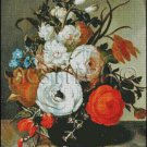 STILL LIFE OF FLOWERS 2 cross stitch pattern