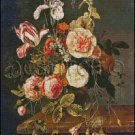 STILL LIFE WITH FLOWERS 3 cross stitch pattern