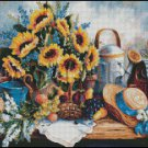 SUNFLOWER cross stitch pattern