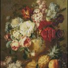 VASE OF FLOWERS 2 cross stitch pattern