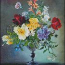 FLOWERS IN A VASE 2 cross stitch pattern