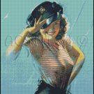 PIN UP 21 cross stitch pattern