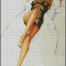 PIN UP 38 cross stitch pattern