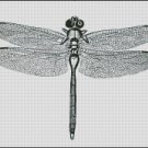 VINTAGE DRAGONFLY cross stitch pattern