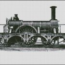 VINTAGE TRAIN cross stitch pattern