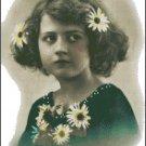 VINTAGE GIRL PHOTO 4 cross stitch pattern