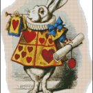 WHITE RABBIT cross stitch pattern