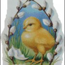 EASTER GREETINGS cross stitch pattern
