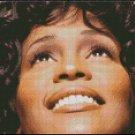WHITNEY HOUSTON cross stitch pattern