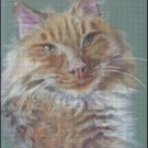 CAT 2 cross stitch pattern