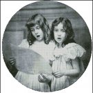 VINTAGE CHILDREN cross stitch pattern