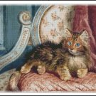CAT 4 cross stitch pattern