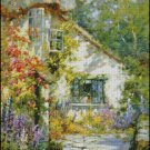 A HOME IN DEVON cross stitch pattern No.678