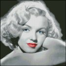 MARILYN MONROE 9 cross stitch pattern