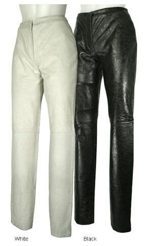 NEW Versace/Versus Black Leather Pants - 8