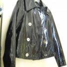 NEW Ralph Lauren Women's Patent Leather Peacoat - S
