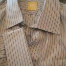 NEW Ike Behar Gold Label French Cuff Dress Shirt -16.5L