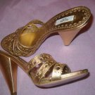 NEW Prada Gold Sandals - US 8/EU 38.5