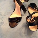 Coach Black Patent Leather Sandals - US 11