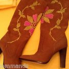 NEW Vince Camuto Imagine Embroidered Women's Boots - US 5.5