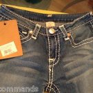 NEW True Religion Billy Big T Urban Cow Women's Jeans - 28