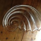 LARGE Crystal Shell Shaped Platter