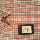 NEW Brooks Brothers Mens Button-Down Collar Shirt - S
