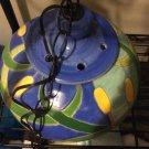 VINTAGE Ceramic Hanging Light Fixture
