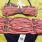NEW Nanette Lepore Nautical Bikini - S