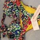 NEW Nanette Lepore Bandeau Bikini - L