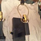 PAIR Oiled Bronze Finish Metal Wall Sconces/Reading Lamps