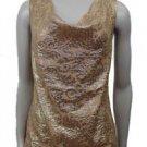 NEW  J. Crew Women's Silk Metallic Sleeveless Top - Size 0