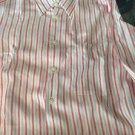 NEW Corneliani ID Striped Linen Blend Shirt - M