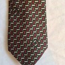 NEW VINTAGE Salvatore Ferragamo 100% Silk Tie w/ Designers Logo