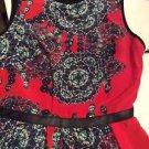 "NEW Hunter Bell ""Irene"" Silk Sleeveless Peplum Blouse - 4"