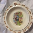 EARLY VINTAGE Bunnykins (1937-1953) Signed Royal Doulton Child's Warming Plate