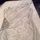 NEW David Meister One-Shoulder Embellished Special Occasion Dress - 10