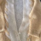 NEW Linda Allard Ellen Tracy Mohair Blend CardigaN Knit Sweater - S