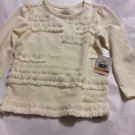 NEW EGG BY SUSAN LAZAR Baby Girl's Lomgsleeve Top - 12 Months