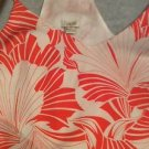 NEW J Crew Racerback Orange Floral Print Slip Dress - 10