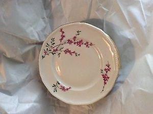 "EXCELLENT CONDITION Set of 7 Royal Bayreuth Antique Dessert Bowls [ - 5.5"""