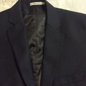 NEW Massaro Dark Navy Jacket - EU 48/US 38