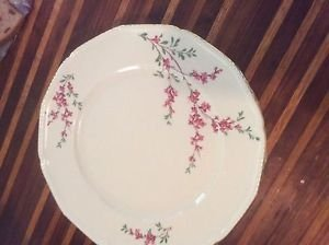 EXCELLENT CONDITION Set of 8 Royal Bayreuth Antique Dinner Plates - 10.5""