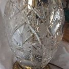 ANTIQUE Exquisite Quality Lead Crystal w/ Intricate Cutwork - 15""