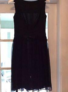 "NEW Milly Silk ""Little Black Dress"" - 4"
