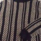 NEW ICB 100% Alpaca Striped Turtleneck - M