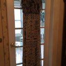 NEW BCBG Printed Silk Chiffon Long Dress/Gown - 4