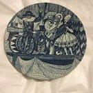 "EXCELLENT CONDITION Vintage Bjorn Wiinblad For Nymolle Ceramic Plate - 6"""