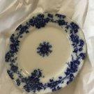 """ANTIQUE Bridgwood & Son Porcelaine Opaque Flow Blue Plate - 9.5"""""""